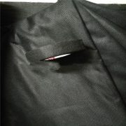 Black Stitch Bonded Cable Wrap Nonwoven Fabric Material
