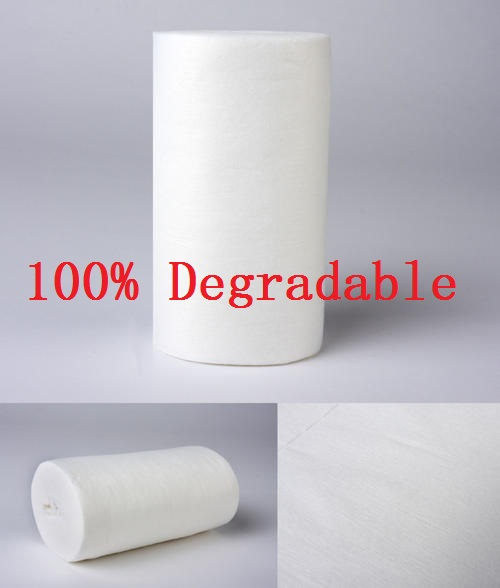Corn Fiber Biodegradable Polylactic Acid Nonwoven Fabric